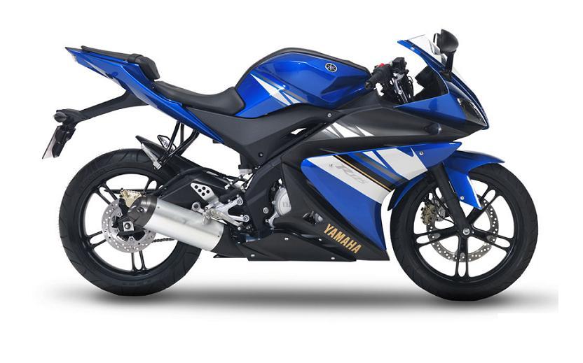 Yamaha Yzf R125 2008 Blue Decal Kit By Motodecalcom