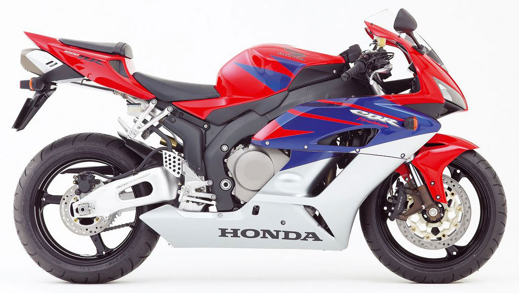 Honda CBR 1000RR 2005 Red Blue Silver DECAL KIT by