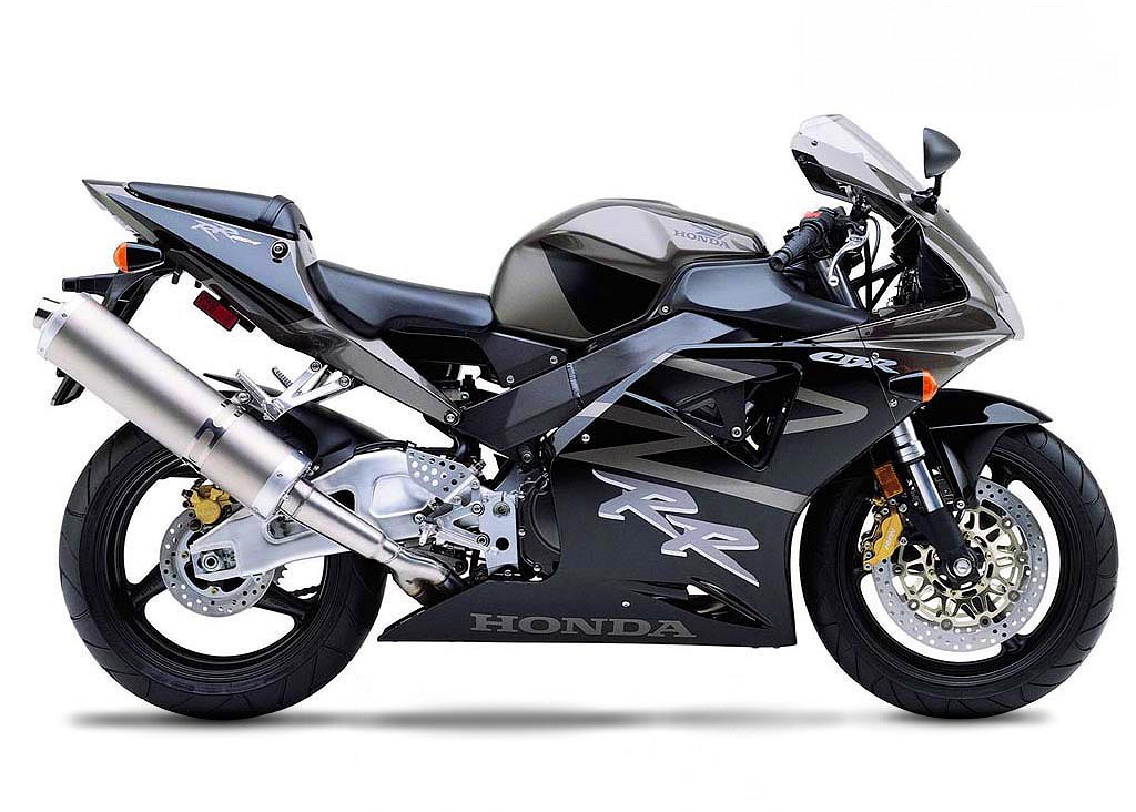 Honda Cbr 954rr 2002 Titanium Black Decal Kit By Motodecal Com