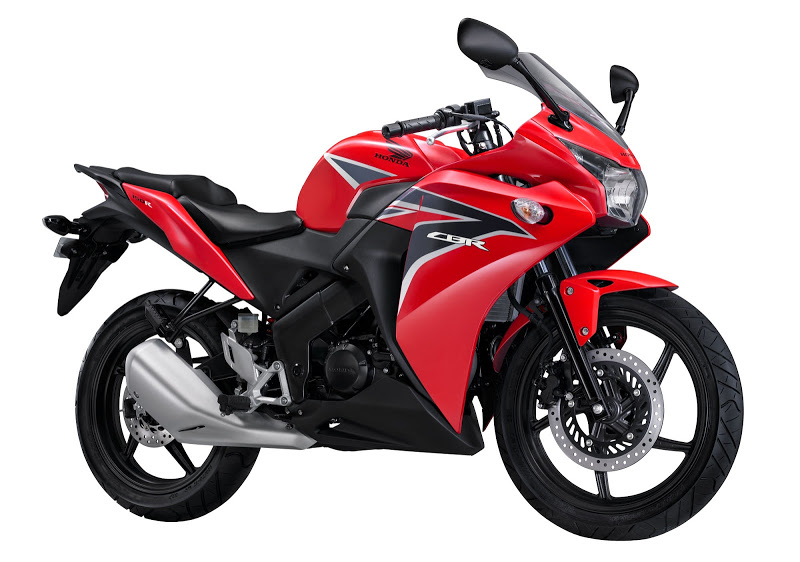 Honda Cbr 150r 2011 Red Decal Kit By Motodecal Com