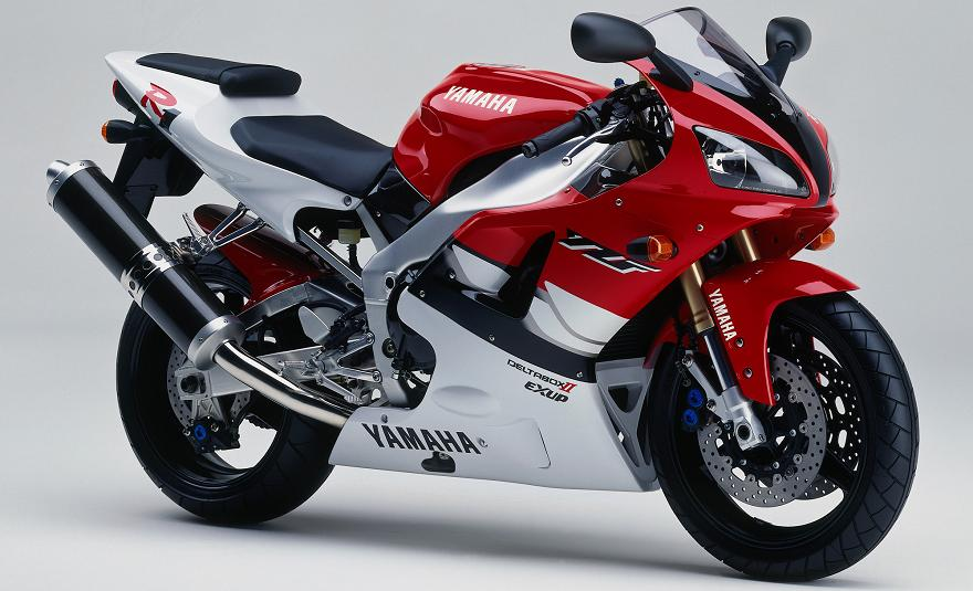 1998 R1 >> Yamaha YZF-R1 1999 Red White DECAL KIT by MOTODECAL.COM